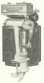 1930-as Evinrude csónakmotor