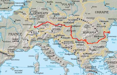 Duna a Fekete erdőtől a Fekete tengerig