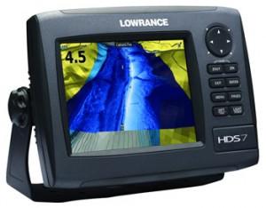 Lowrance HDS7 gen2 halradar 2012