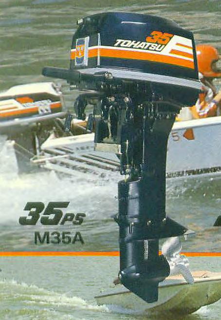 Tohatsu M35A modellje