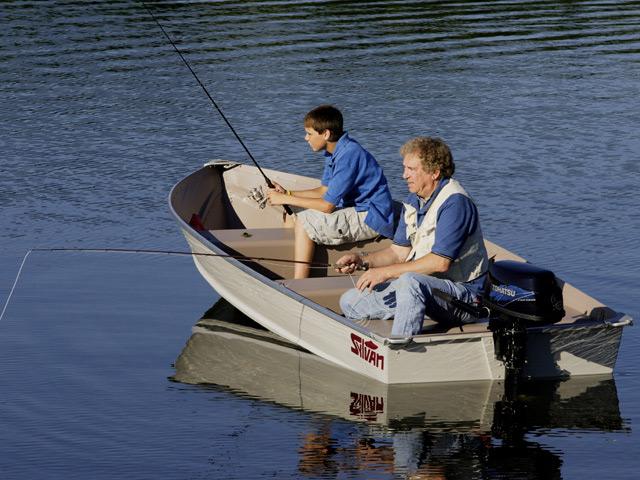 Tohatsu 6 Le csónakmotor és csónak