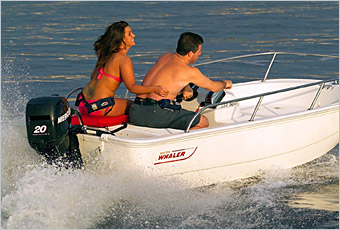 Mercury 20 Le csónakmotor