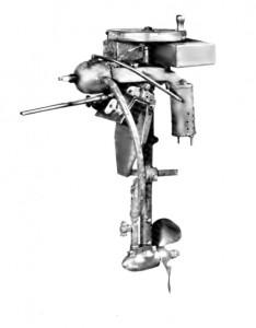 1907:1,5 lóerős benzinüzemű csónakmotor
