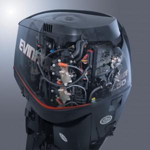 Az Evinrude E-TEC csónakmotor belülről