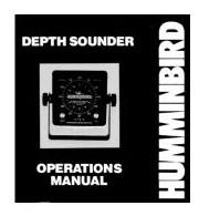 Humminbird mélységmérő 1975