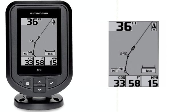 Humminbird 176 xi GPS halradar